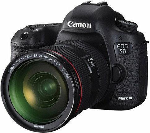 Canon EOS 5D Mark III + 24-105 kit