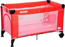 Caretero IKS 2 łóżeczko łóżeczka turystyczne Simplo Red