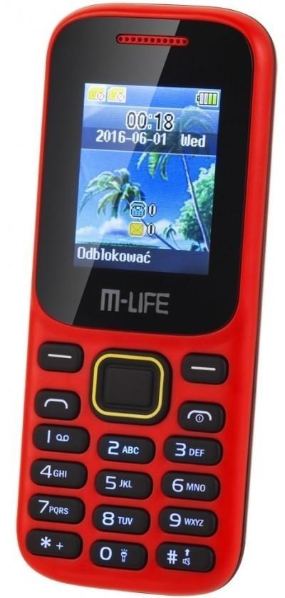 Kruger&Matz M-Life ML0586.1 Czerwony