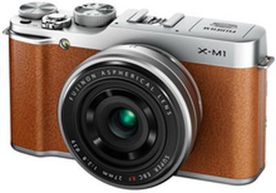 FujiX-A3 + 16-50 kit brązowy