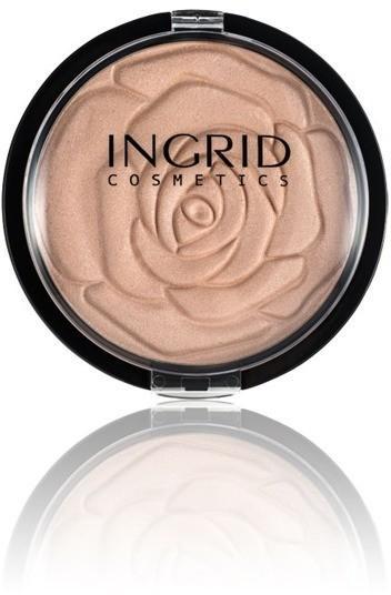 Ingrid HD Shimmer Powder Compact rozświetlający 25g