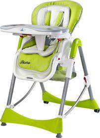 Caretero IKS 2 krzesełko do karmienia Bistro Green