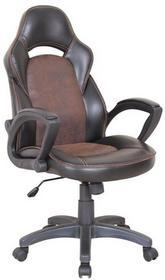 Halmar Fotel biurowy Lizard czarno-brązowy (V-CH-LIZARD-FOT)
