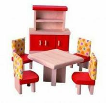 Plan Toys Mebelki dla lalek - Jadalnia 7306