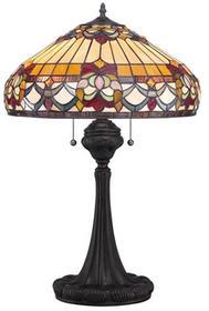 Elstead Lighting Lampa stołowa witrażowa TIFFANY BELLE FLEUR QZ/BELLEFLEUR/TL -