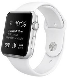 Apple Watch 38 mm Aluminium / Biały