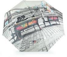 YNot Parasol damski z nadrukiem automatyczny Easymatic Light City New York