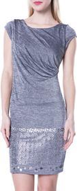 Desigual Mihaela Dress Srebrny L