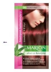 Marion Aloes & Keratyna 4-8 myć szampon koloryzujący w saszetce 98 Burgund 40ml