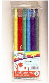 Kredki Fiorello Color Twist 6 kolorów