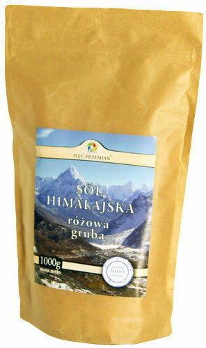 Pięć Przemian Sól Himalajska Różowa Gruboziarnista 1KG