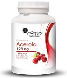 MedicaLine Naturalna witamina C - acerola 120 szt.