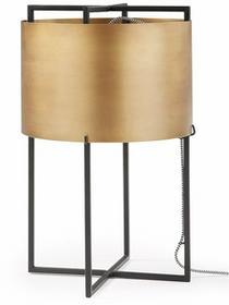 LaForma Lampa stołowa KELLEY Mosiężna AA0031R53