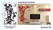 Naklejka Drzewa nr 35 format 200x120cm