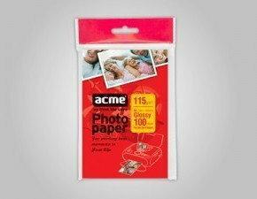 Acme Papier Fotograficzny 10x15 115g 100 Ceny Dane Techniczne