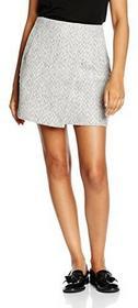 NEW LOOK Spódnica Wrap Fleck dla kobiet, kolor: szary, rozmiar: 44