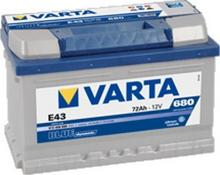 Varta BLUE DYNAMIC E43 72Ah 680A P+