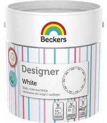 Beckers Designer White 2,5L wodorozcieńczalna Farba lateksowa