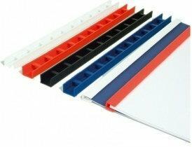 Opus Listwy zamykane do oprawiania różne kolory - 10mm (25szt)