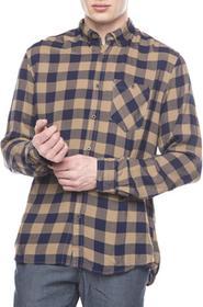 Tom Tailor Koszula Niebieski Brązowy M