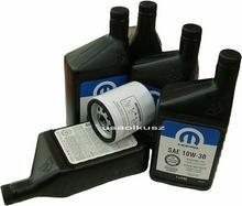 MOPAR Filtr oleju + olej 10W30 Dodge Caravan 2,0 / 2,4