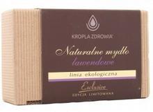 Kropla Zdrowia Naturalne Mydło w kostce lawendowe - do ciała - - 130g 03101