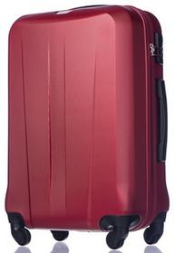 Puccini Duża walizka ABS03 Paris czerwona ABS03 A 3