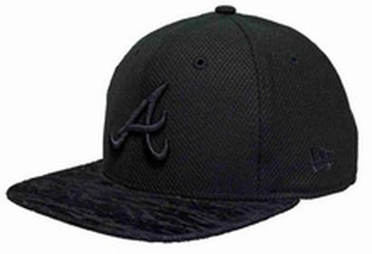 New Era czapka z daszkiem 950 Flocked Tone Atlbra Blk BLK) rozmiar S/M