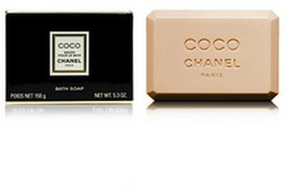 ChanelCoco Black Bath Soap Mydło w kostce do kąpieli - 150g