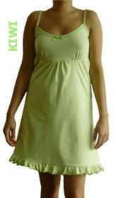 Dolce Sonno Koszula nocna ciążowa - Kiwi na ramiączkach