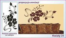 Naklejka Kwiaty, Ornamenty nr 31