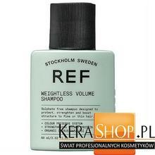 REF  Weightless Volume Shampoo Szampon Nadający Objętość 60 ml