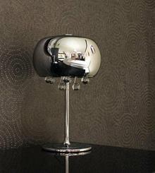 Maxlight Lampa stołowa OPRAWA kryształkowa HALOGENOWA gabinetowa MOONLIGHT T0076-03D halogen Chrom