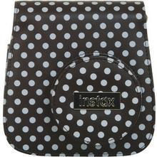 Fuji Instax Mini 8 czarno-biały w kropki + pasek 102300