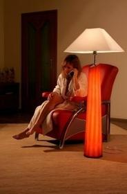Falko Lampa stojąca -Red L1/maxi - 4902