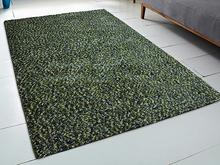 Beliani Dywan zielony - 200x300 cm - Shaggy - poliester - OREN