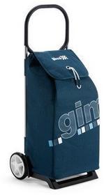 torba na zakupy z kółkami Italo niebieska,