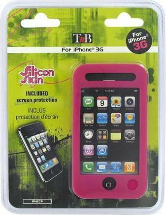 iPhone G3 Etui IPH23P - Silikonowe etui do iPhona,róż