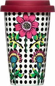 Sagaform 5017103kubek Coffee-to-go, porcelana, 9x 9x 15cm, kolorowy