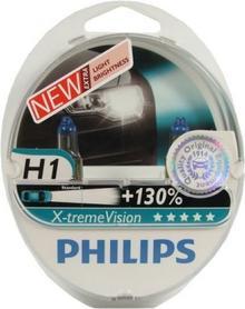 PHILIPS Żarówki X-treme Vision Plus 130% H1 12V 55W (2 szt.)