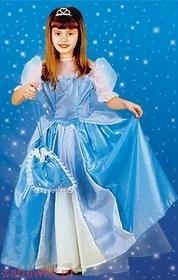 Sezamik STRÓJ karnawałowy Śpiąca Królewna błękitna 0351