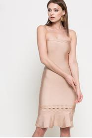 Missguided Sukienka DE910740 złoty brąz