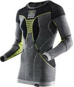 X-BionicKoszulka termoaktywna apani merino man 2017 szary zielony
