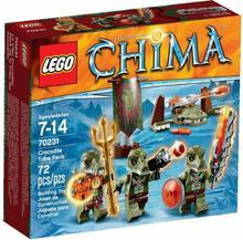 LEGO Chima Plemię Krokodyli 70231