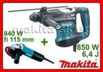 Opinie o MAKITA HR3210C + 9557, młotko wiertarka SDS-Plus + szlifierka kątowa fi 115mm