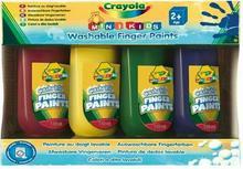 Crayola Farby do malowania palcami 4 kol CR-3239