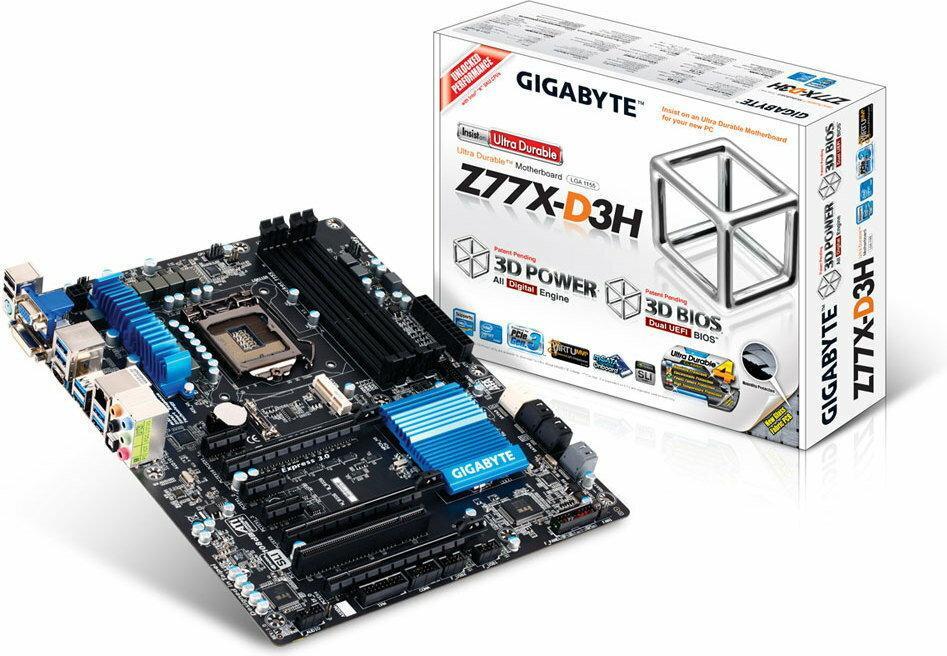 Gigabyte GA-Z77X-D3H