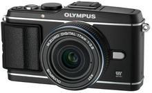 Olympus Pen E-P3 + 17 mm czarny