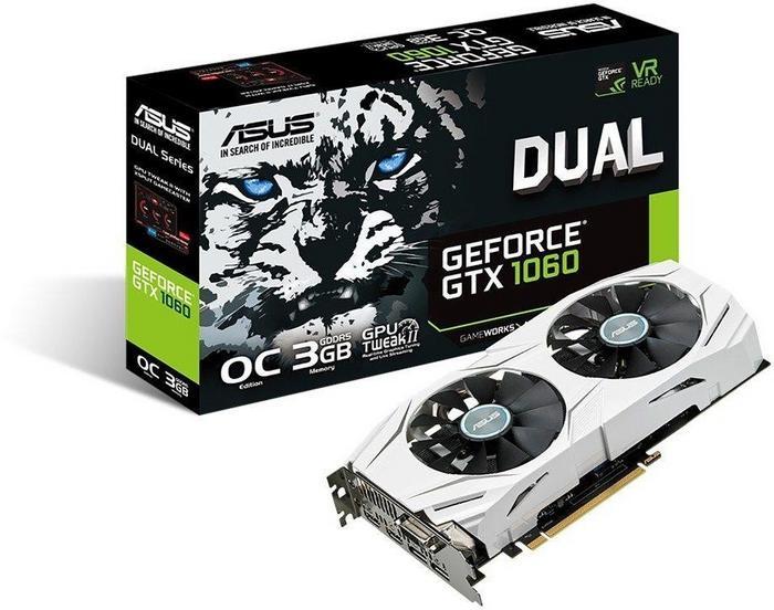Asus GeForce GTX 1060 Dual OC (90YV09X3-M0NA00)