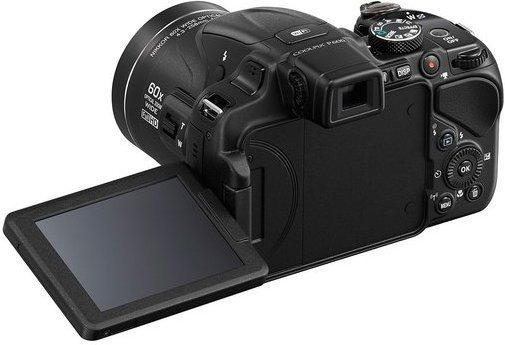 Nikon Coolpix P600 czerwony